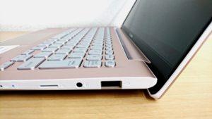 ASUS VivoBook S13のポートなど詳細2